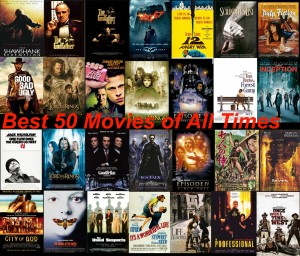 Best 50 movies of all times